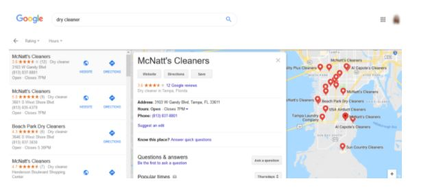 بهینه سازی صفحه بیزینس گوگل