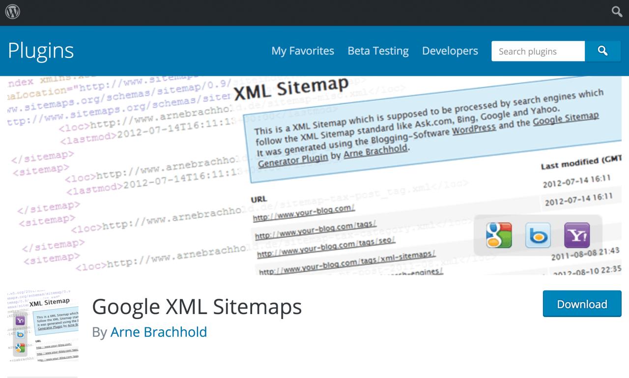 سایت مپ xml ووردپرس