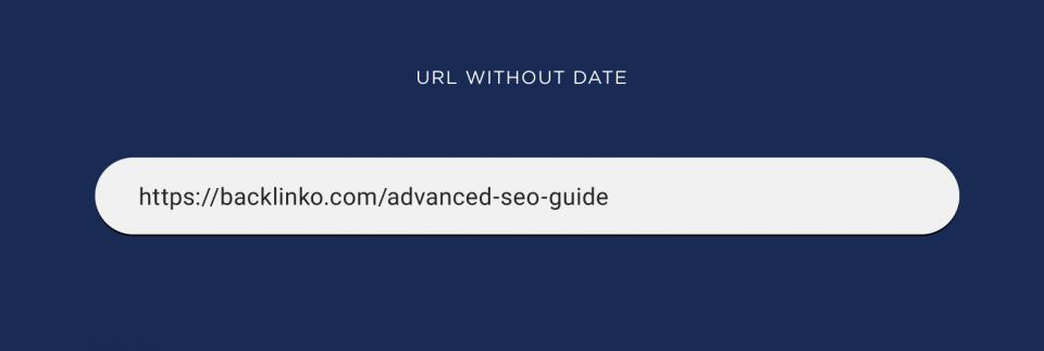 URL بدون تاریخ