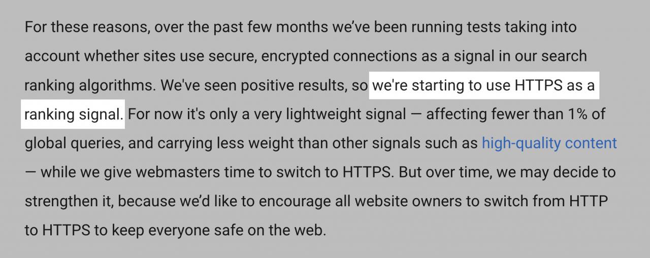 توصیه های گوگل درباره سئو URL ها