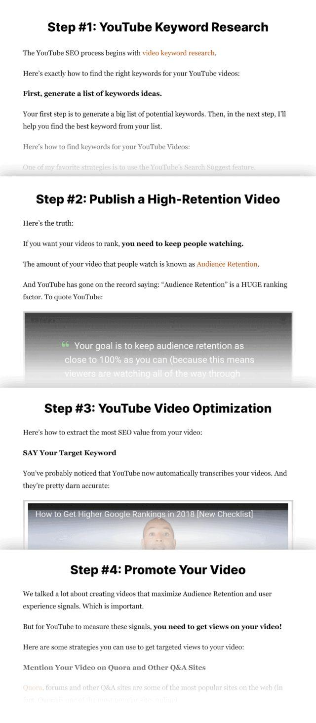 آموزش رتبه گرفتن در یوتیوب