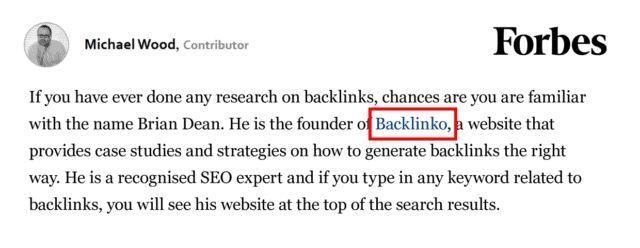 مثال بک لینک