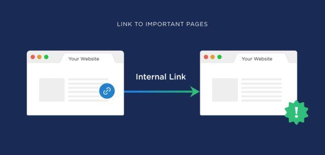 اهمیت لینک سازی بین صفحات