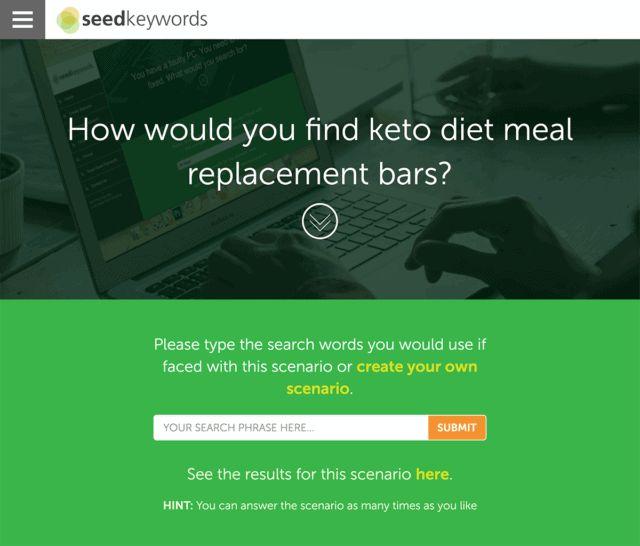 ابزار seed keywords