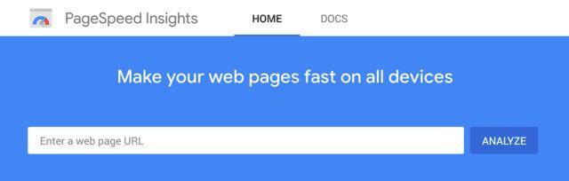 استفاده از ابزار page speed insights