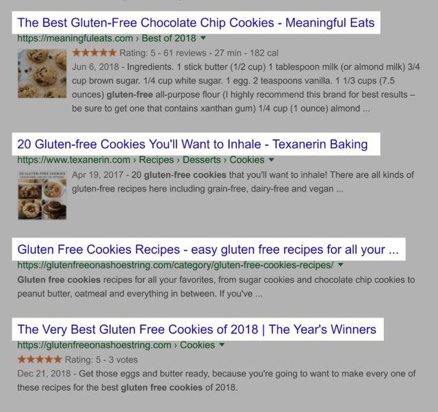 تگ های تایتل در نتایج جستجو
